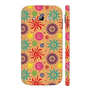 Enthopia Designer Hardshell Case Artsy Sun N Moon Back Cover for Samsung Galaxy Grand 2