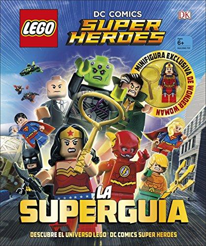 Fabuloso libro guía de 96 páginas y tapa dura con el que descubrirás todo sobre los superhéroes y los supervillanos de LEGO DC Comics. Averigua como obtuvo Superman sus poderes o porque El Pingüino lleva un sombrero de copa o cual es el nombre real d...