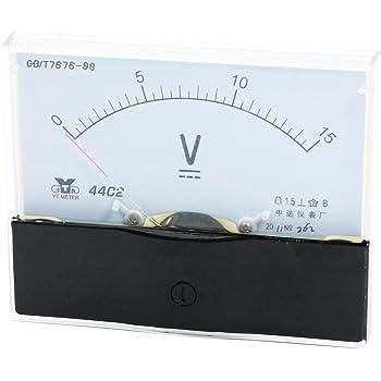 Analog Voltmeter Meter Voltmeter DC Messbereich 44C2 0-15 V