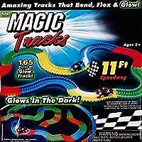 Magic Tracks Hipódromo Juguete de Pista de Carreras Coches Para Niños