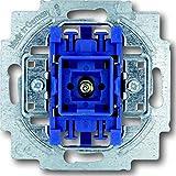 Busch-Jaeger 2000/6USGL 1012-0-1127 Wechselschalter Mit Beleuchtung, 250 V, Blau, Grau