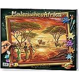 Schipper 609130426 - Malen nach Zahlen - Malerisches Afrika, 40x50 cm
