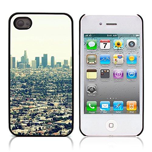 Graphic4You California Street Postkarte Ansichtskarte Design Harte Hülle Case Tasche Schutzhülle für Apple iPhone 4 und 4S Design #1