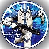Fondant Tortenaufleger Tortenbild Geburtstag Star Wars T1