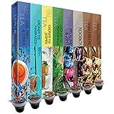 Offerta speciale: 80 capsule SanSiro Tè Selection Box No. 1: Capsule di tè compatibili Nespresso® - 8x10 capsule