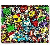 Marvel Avengers Personaggi controllato Multicolore portafoglio