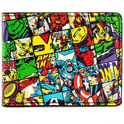 Marvel Avengers geprüft Charaktere Mehrfarbig Portemonnaie -