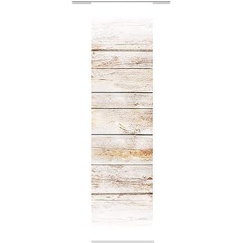 383730153257c6 HOME WOHNIDEEN Schiebevorhang Deko Blickdicht Board Größe BxH 60x245 cm Fb.  braun