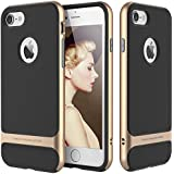 Rock 4.7-inch Royce Ultra Thin Shock Proof Dual Layer Back Cover for Apple iPhone 7 (Golden)