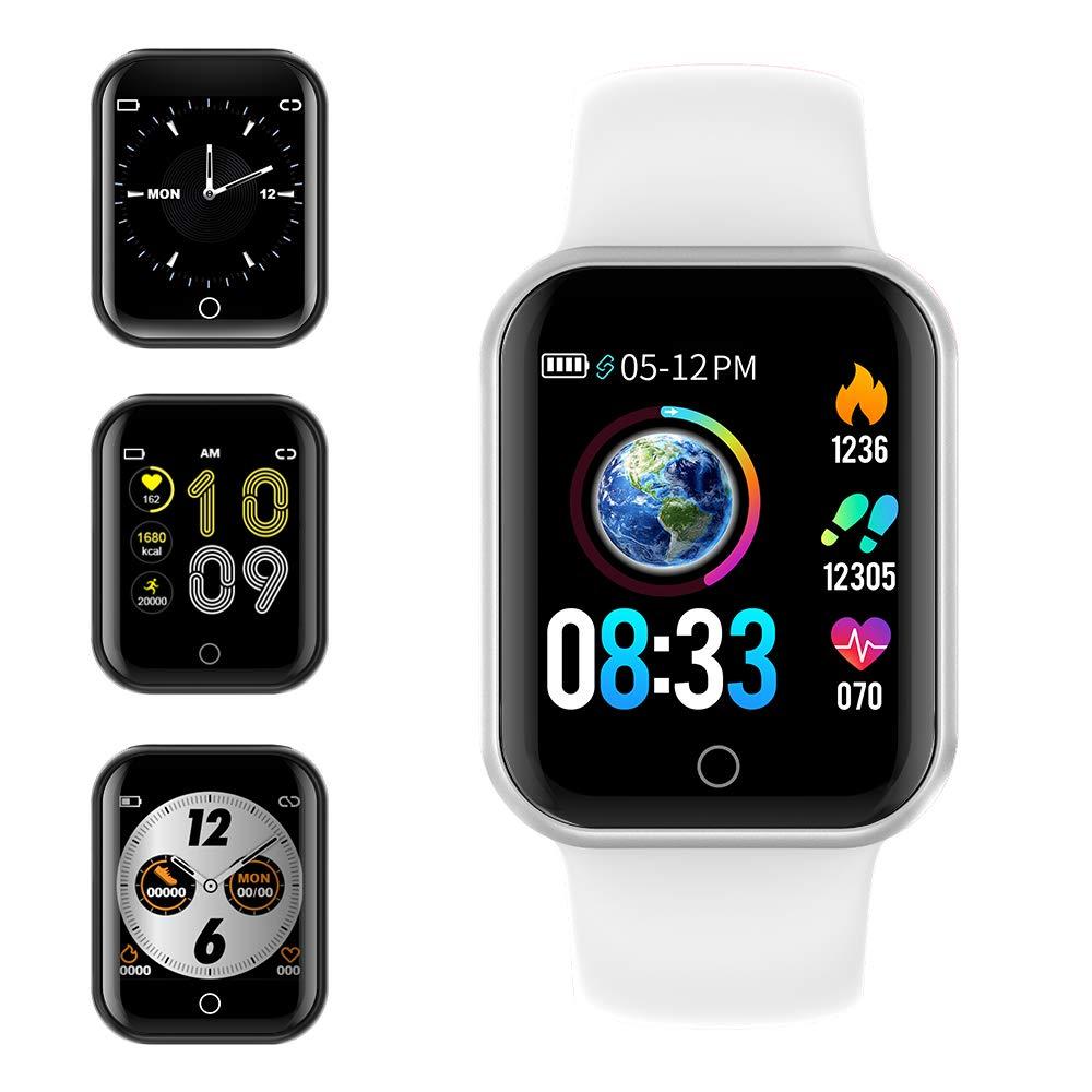 Smartwatch, KUNGIX Reloj Inteligente Impermeable IP68 Pulsera de Actividad Inteligente con Monitor de Sueño Pulsómetros… 1