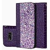 f�r Smartphone Samsung Galaxy S8 H�lle, Leder Tasche f�r Samsung Galaxy S8 (5.8 Zoll) Flip Cover Handyh�lle Bookstyle mit Magnet Kartenf�cher Standfunktion (4) Bild