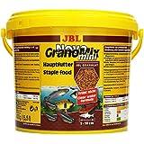 JBL Alleinfutter für kleine Aquarienfische, Nachfülldose Granulat 5,5 l, NovoGranoMix 30111