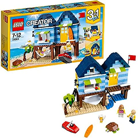 LEGO - 31063 - Creator - Jeu de Construction - Les Vacances à la Plage