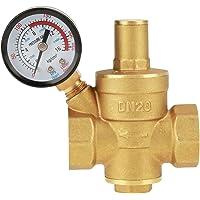 Réducteur de pression, DN20 3 / 4inch Réducteur de pression de l'eau en laiton 3/4 '' Réglable Fil de vanne de…
