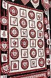 Makower Weihnachten Advent Wimpelkette