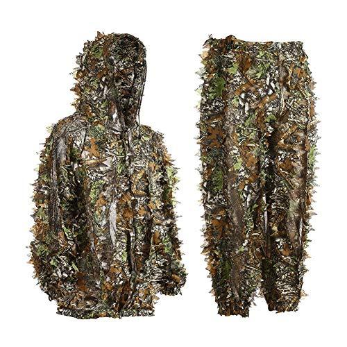 KINJOHI 3D Ghillie Tarnanzug Dschungel Ghillie Suit