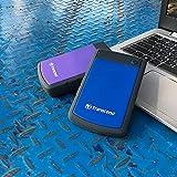 Transcend StoreJet 25H3B 1TB External Hard Disk, Blue