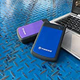 Transcend StoreJet 25H3P 2.5-inch 2TB Portable External Hard Drive (Purple)