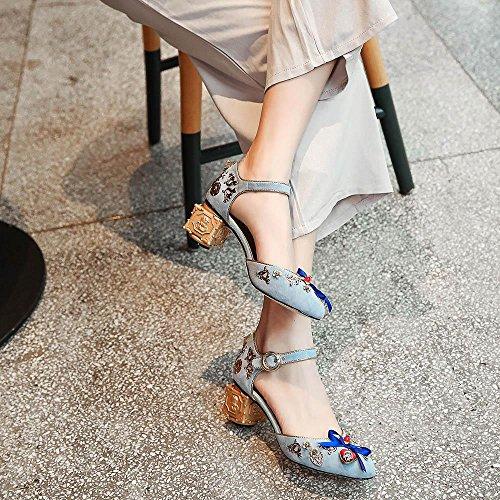 GJDE Donna Sandali ,Mano Scarpe da Sposa su Misura Delle Donne dei Sandali Scarpe da Sera Banchetto a