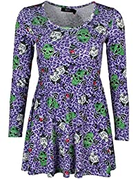 Iron Fist Back From The Dead Dress - Purple Medium