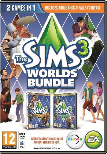 The Sims 3 Worlds Bundle (PC DVD) [Edizione: Regno Unito]