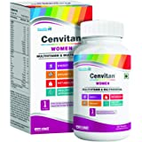 Healthvit Cenvitan Women Multivitamin & Multimineral with 24 Nutrients (Vitamins and Minerals) | Anti-Oxidants, Energy, Metab