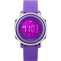 Orologio sportivo digitale per bambini – Orologio per ragazze waterproof fino a 5 ATM con cronometro, orologio da polso…