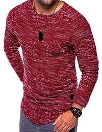 MT Styles Oversize à manches longues T-Shirt manches courtes homme C-9015