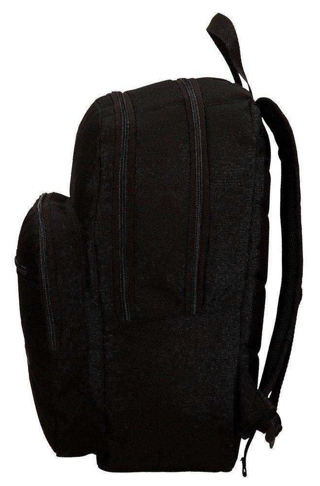 61oJOgbG9KL - Pepe Jeans Harlow Mochila Escolar, 42 cm, 19.44 litros, Negro