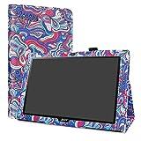 LiuShan Acer Iconia One 10 B3-A40 hülle, Folding PU Leder Tasche Hülle Case mit Ständer für 10.1