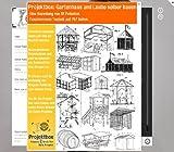 Produkt-Bild: Gartenhaus und Laube selber bauen: Deine Projektbox inkl. 757 Seiten Original-Patente bringt Dich mit Spaß ans Ziel!