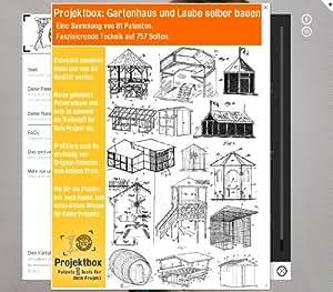 gartenhaus und laube selber bauen deine projektbox inkl 757 seiten original patente bringt. Black Bedroom Furniture Sets. Home Design Ideas