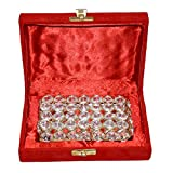 Vintage Decorative Crystal Jewellery Box With Box Packing