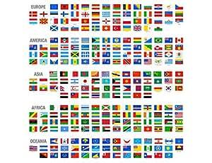 maxi gr entabelle flaggen der welt von kontinent europa amerika asien afrika und ozeanien. Black Bedroom Furniture Sets. Home Design Ideas