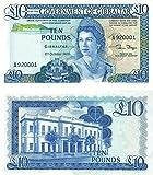 Gibraltar - 1986 £10 Sammlerbanknoten (Unzirkuliert)