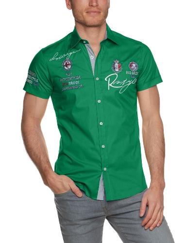 Redbridge - Camicia a maniche corte  da uomo Verde (Grün (Green))