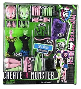 Monster High Create A Monster Witch and Cat Girl