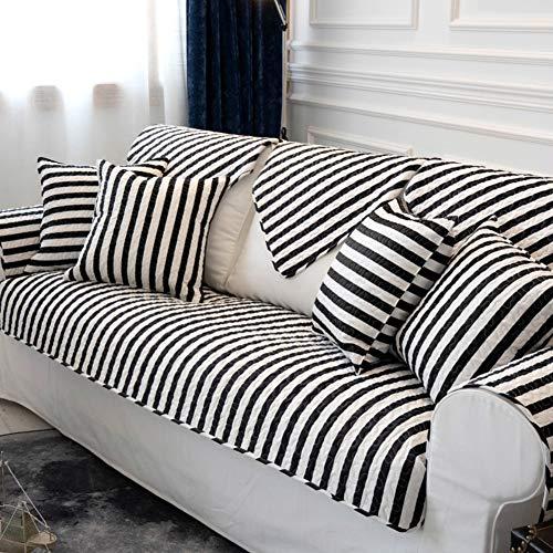 KE & LE Moderne Gesteppter Anti-Slip Sessel Schoner, Baumwolle Sofabezüge Schnitt Multi-größe Haustier Hund Quadratische Weich Sofabezug-i 35