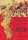 World of Art Vintage Opera und Klassische Musik La Boheme