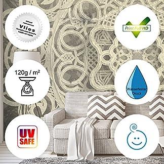 murando Fotomurales 50×35 cm XXL Papel pintado tejido no tejido Decoración de Pared decorativos Murales moderna Diseno Fotográfico Piedra Piedras optica Muro f-B-0063-a-b