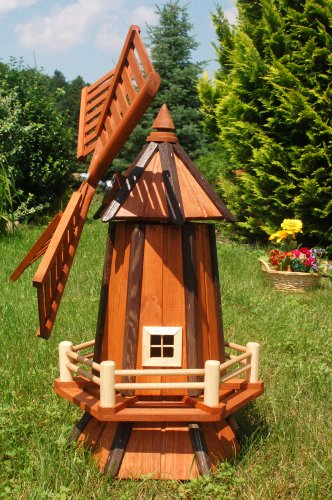 deko-shop-hannusch-grand-moulin-a-vent-decoratif-en-bois-enduit-avec-roulement-a-billes