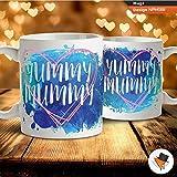 Yummy Mummy Mum Mutter New Baby Kaffee Tee Tasse Geschenk Geburtstag Jahrestag