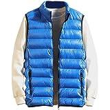 SANFASHION Men Gilet Jacket Body Warmer Lightweight Sleeveless Soft Casual 2020 Newest Autumn Winter Pocket Zip Warm Work Out