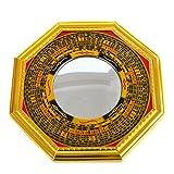 Feng Shui Bagua konvexe Spiegel Pakua W, mit rotem mxsabrina Armband SKU: j2323