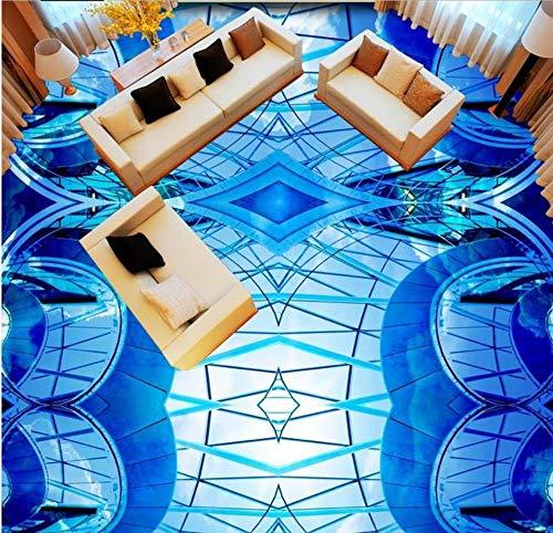 *Schöner abstrakter 3d Fußbodenbelag des Tapetenhimmels 3d für Bodenbelag des Einkaufszentrums Küche-Wandtapete 3d, 250cmX175cm*