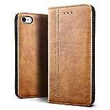 SLEO Coque pour iPhone 8/iPhone 7,Portefeuille en PU Cuir Pochette Magnétique Luxe...
