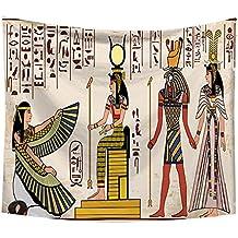 Merssavo Egipto Patrón Tapiz Hippie Colgante de Pared Colcha Bohemia Tiro Dormitorio Decoración Toallas ...