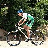 1byone Fahrrad-Handyhalterung, Halterung am Lenker für Smartphones und GPS Geräte, Einfacher Anbau, Stabil und gut geschützt. Farbe: Schwarz - 6