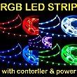 Ramozz @ 2m 2 Meter RGB 5050 LED SMD Strip Streifen Controller