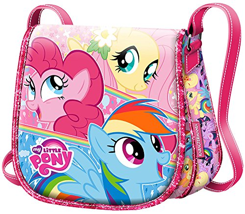 Karactermania My Little Pony Cute Bolso bandolera, 17 cm, Rosa